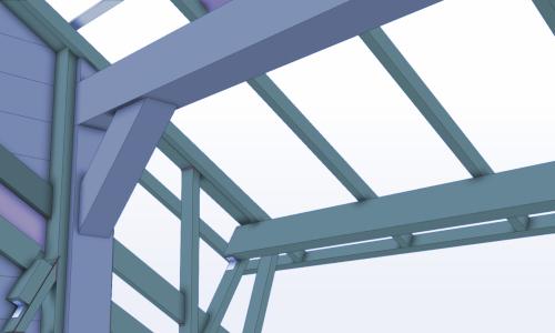Tekla Structures (basis)Houtskeletbouw
