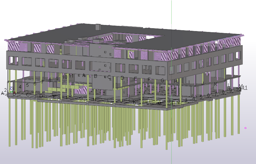 Tekla Structures en BIM Onderwijs bij de Hogeschool van Arnhem & Nijmegen