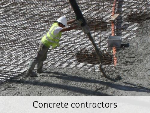 Concrete contractors Tekla